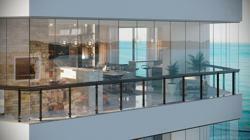 Grace bay apartamento com vista mar